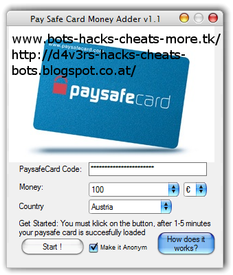 pay safe cards