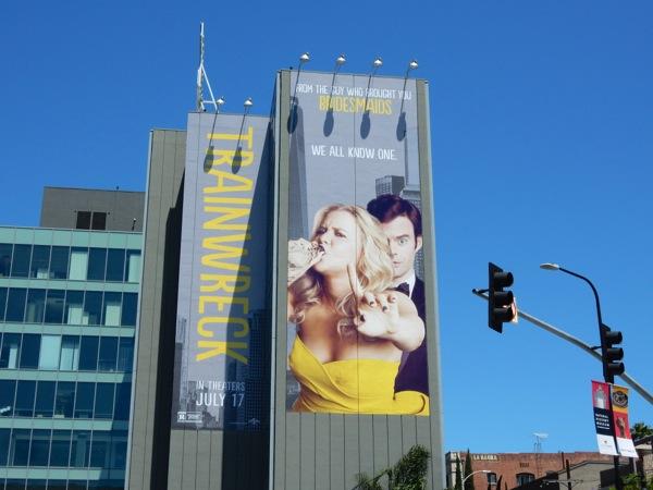 Giant Trainwreck movie billboard