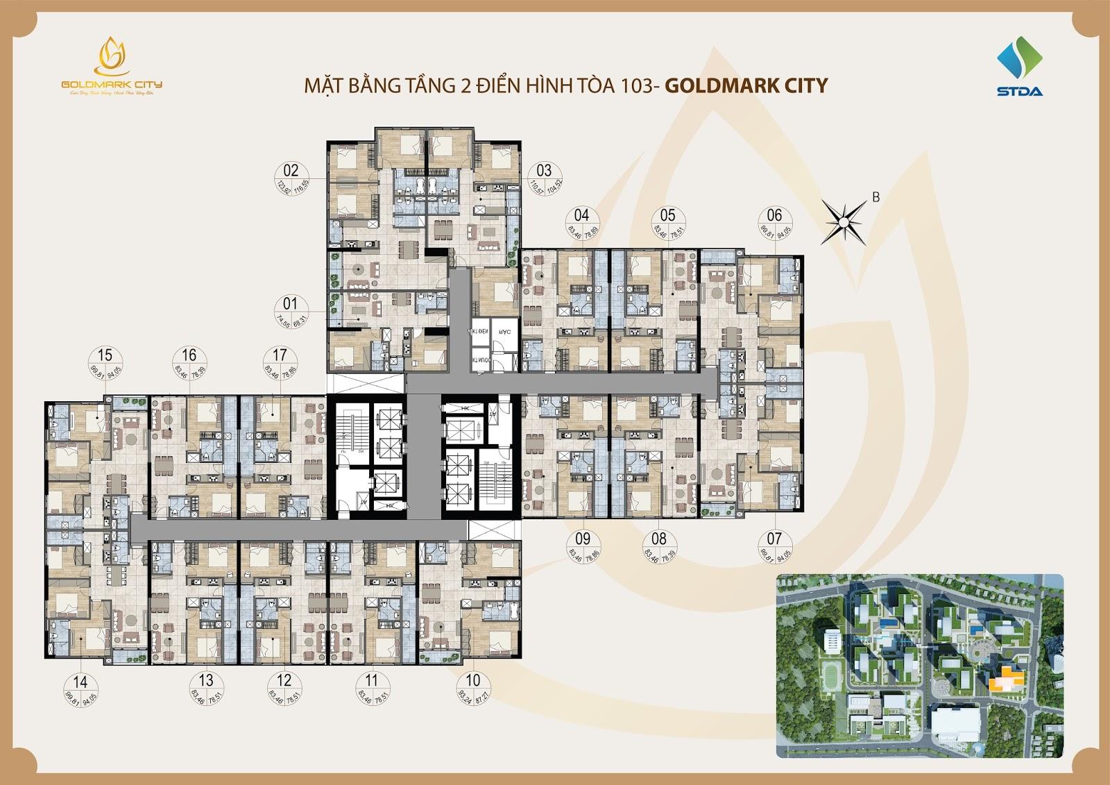 chung cư goldmark city ruby 3