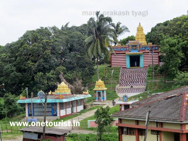 tamil temple in mayabunder , andaman