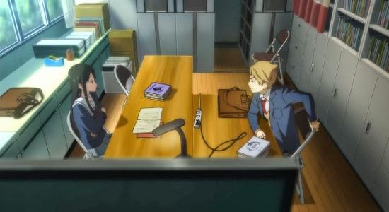 Recenzja anime Kyoukai no Kanata (2013). Studio Kyoto Animation.