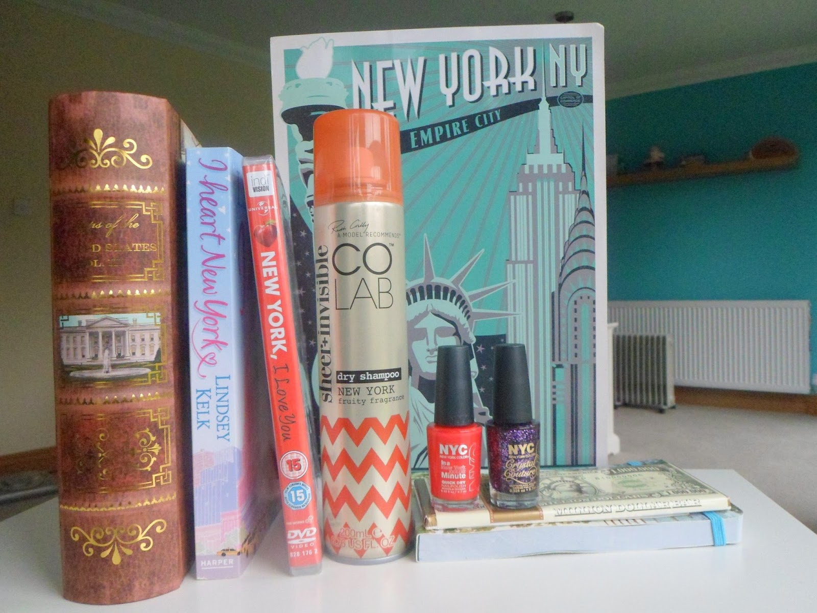 Beauty by a Geek: New York Themed Gift Basket