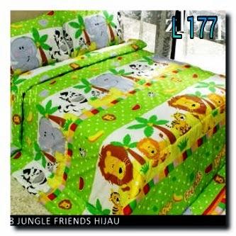 Sprei Junggle Friend Handmade pojokhandmade.com