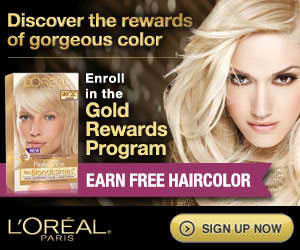 Free L'Oreal Products & Perks for Gold Rewards Members