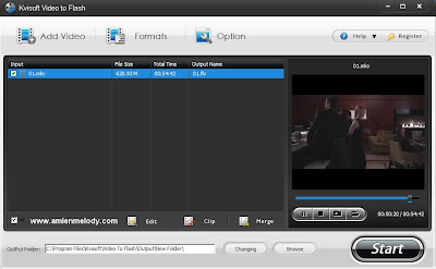 Kvisoft Video To Flash Converter v1.5.0.0