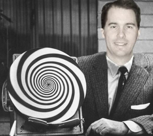 Amatuer GOP Hypnotist, Scott Walker