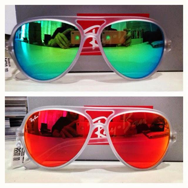 Os óculos estilo aviador imortalizado pela linha ray-ban, agora ganhou cara  nova, ficou mais despojado e colorido. ed127055b3