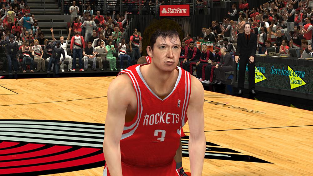 NBA 2K14 Omer Asik Cyberface Mod