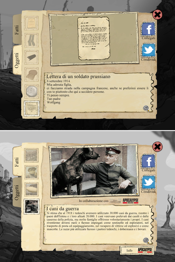 Valiant Hearts, video game, iOS, Prima guerra mondiale, grande guerra, oggetti collezionabili, ubisoft, screenshot, The Great War, puzzle game