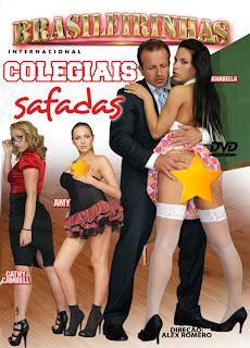Brasileirinhas - Colegiais Safadas - DVDRip