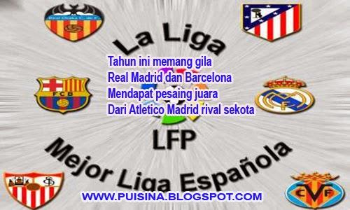 uisi Gila Bola Klasemen Liga Spanyol