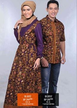 Model Baju Batik Modern Terbaru 2012
