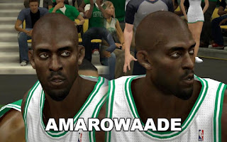NBA 2K13 Boston Celtics Cyber Face Pack Kevin Garnett
