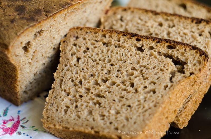 Почему после выпечки хлеб крошится 144