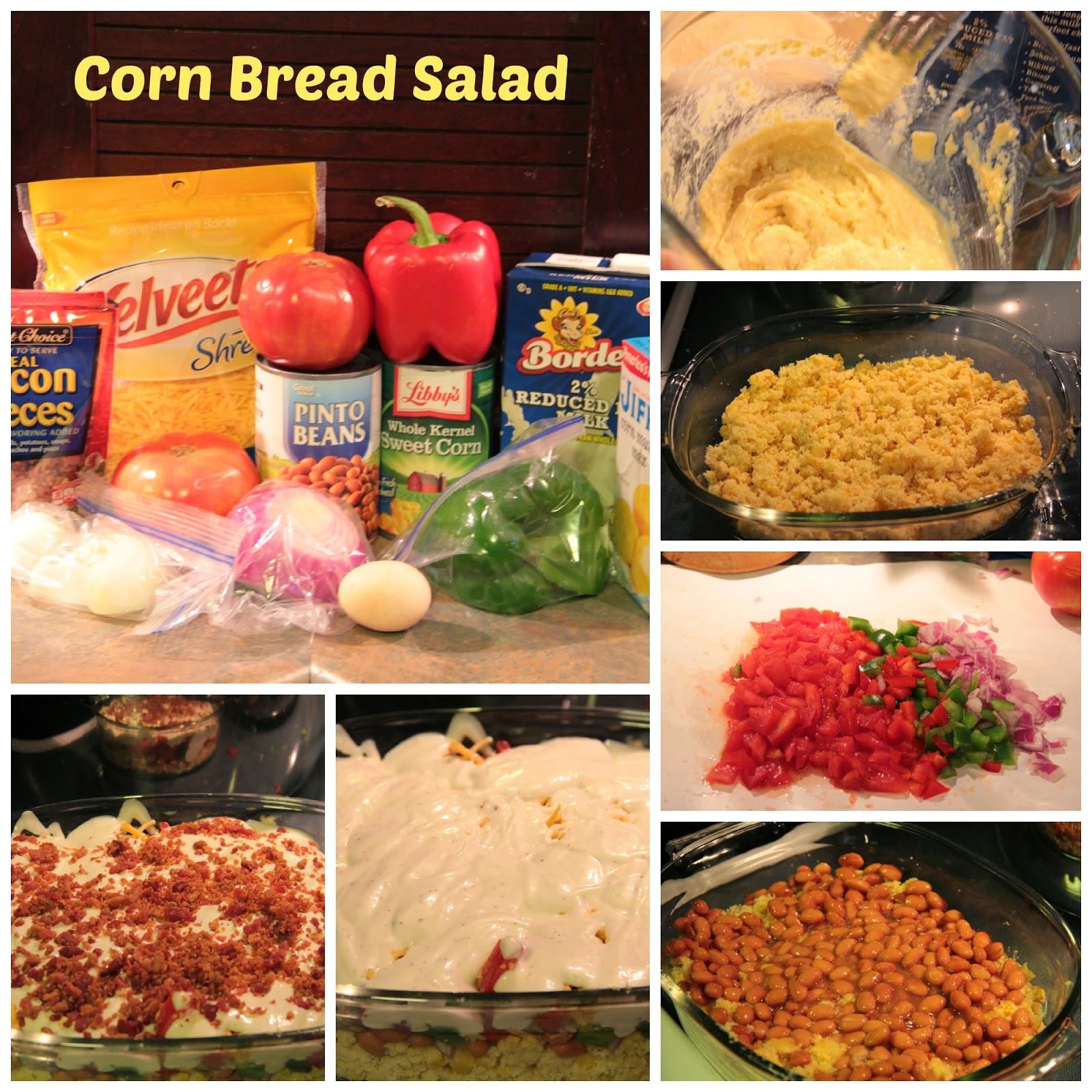 corn bread salad
