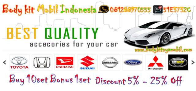 Bodykit Mobil Indonesia Promo Tahun Baru