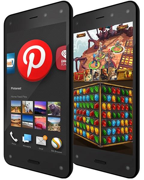 Amazon presenta el nuevo Fire Phone