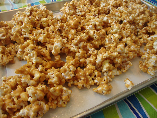 Peanut Butter Popcorn, watch out, this stuff is addicting!