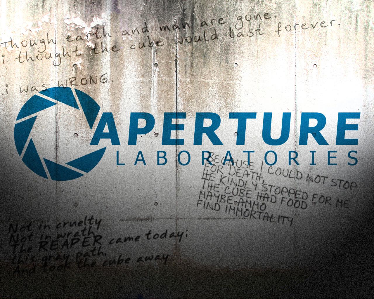 http://4.bp.blogspot.com/-6xs5yvJ273M/TlS2JZQ-ckI/AAAAAAAABPQ/AuNsc8tz_C8/s1600/Aperture_Science_Wallpaper_by_Azahiel.jpg
