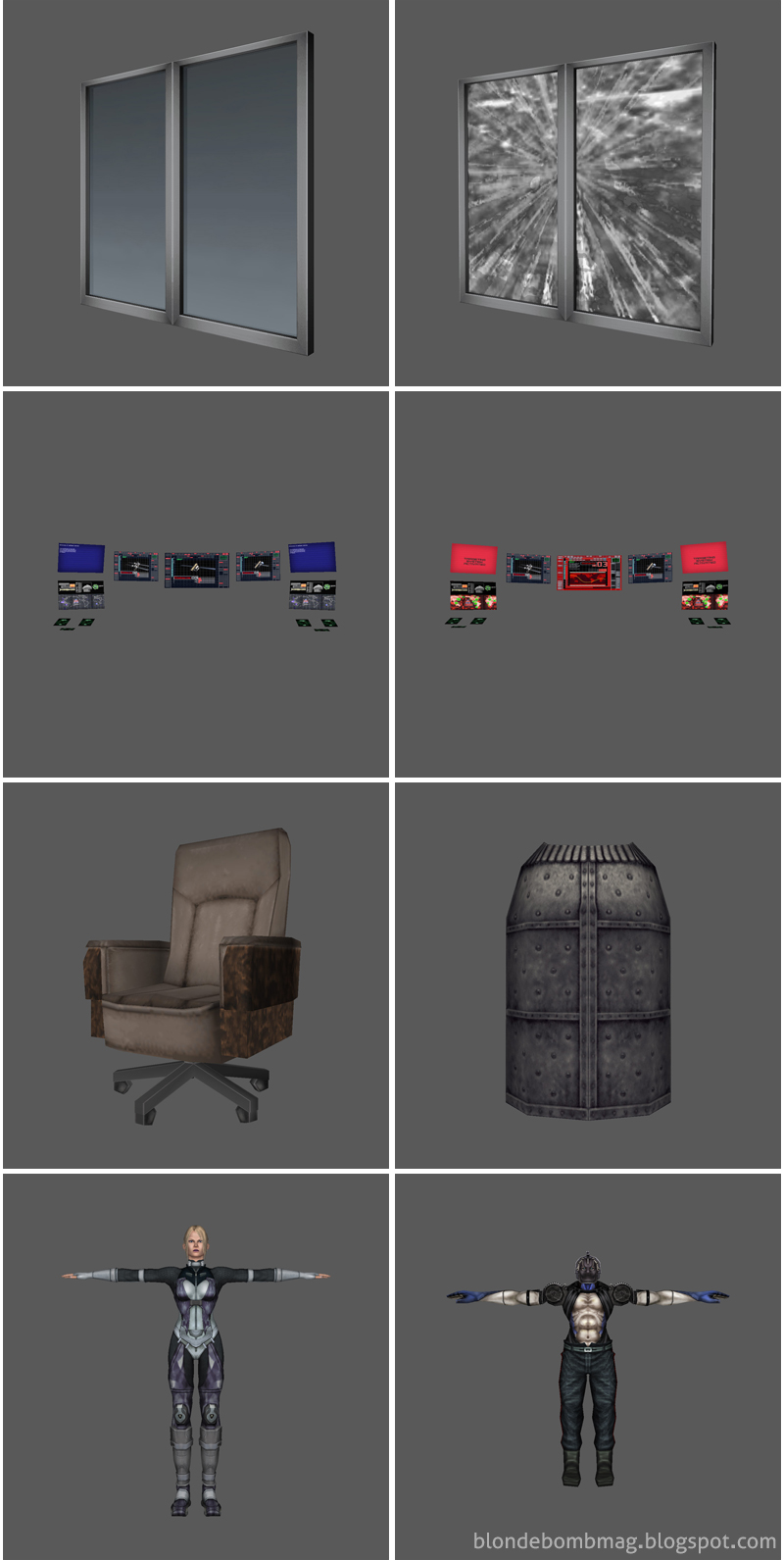 Death by Degrees PlayStation2 3D Models