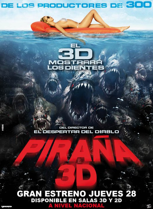 Pelicula pira a 3d ver trailer subtitulado espa ol full for Orgia en la piscina