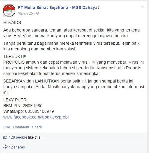 Kelakuan Sebagian Besar Member Melia Sehat Sejahtera (MSS)