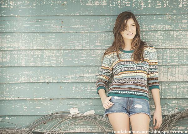 Primavera verano 2015 Sweaters Del Cerro Patagonia