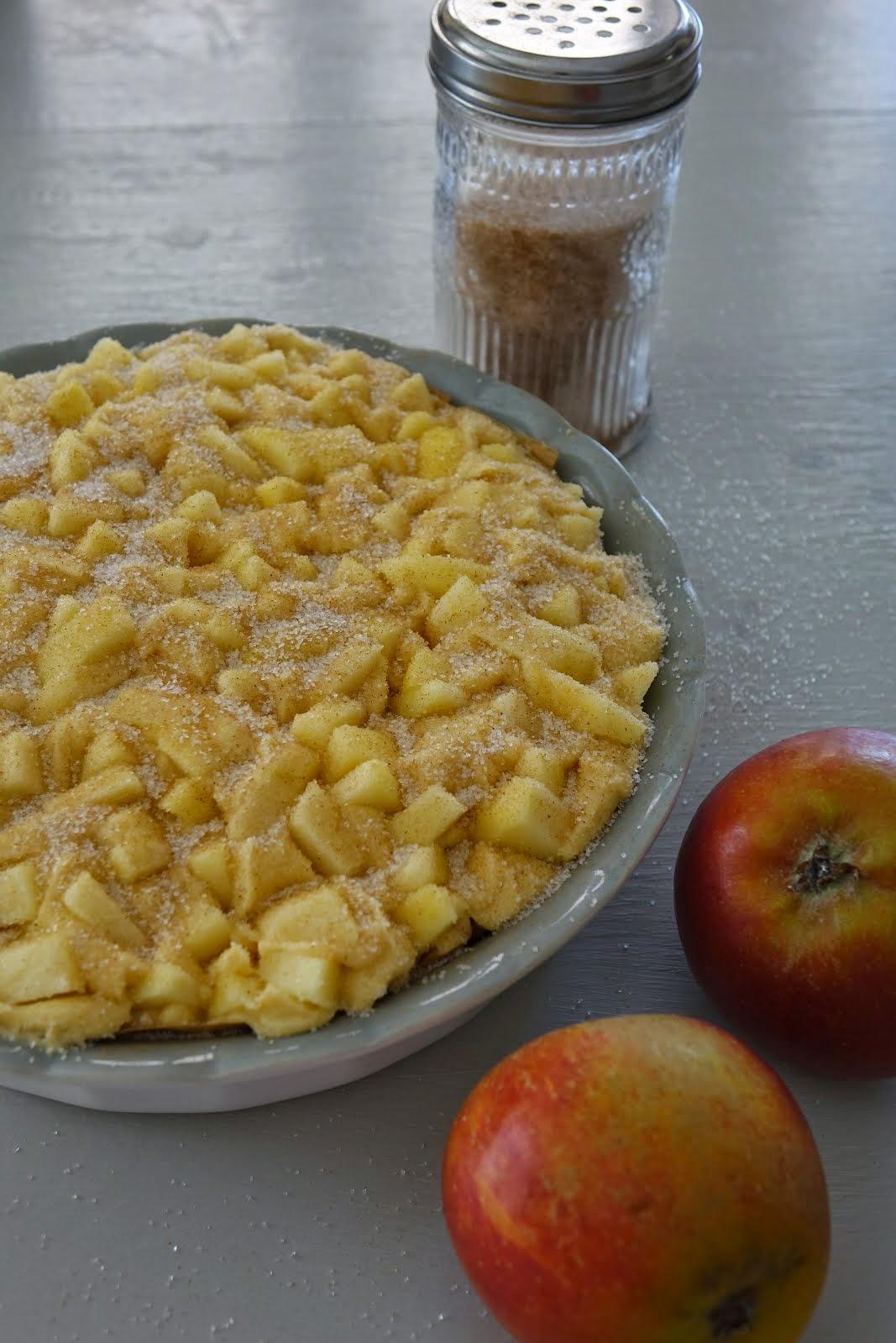Äppelkaka...