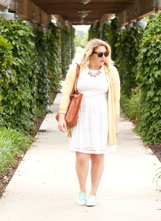 C and c california white dress outfit