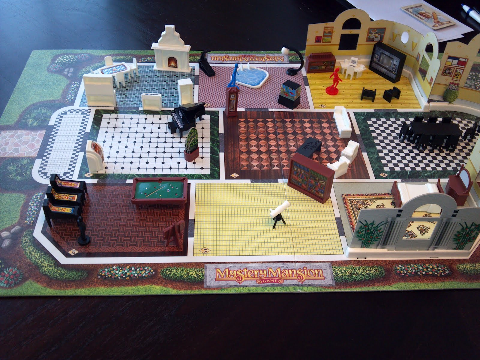 Mystery Mansion A Board Game A Day - Mansion design games