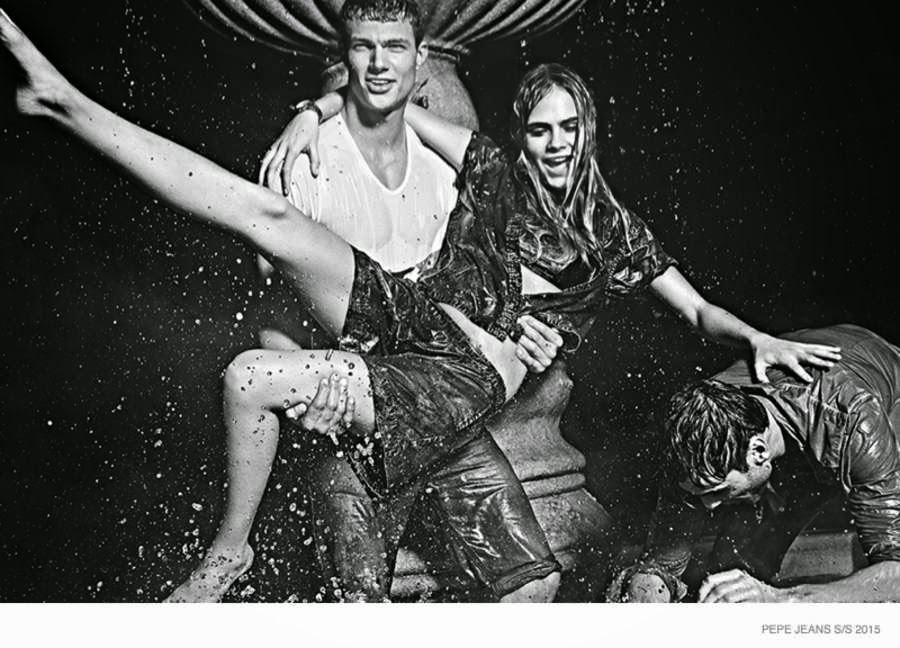 Pepe Jeans Spring/Summer 2015 Campaign featuring Cara Delevingne