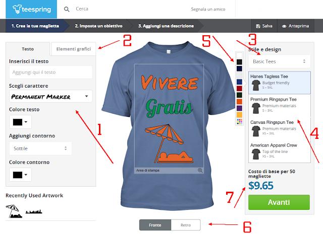 Come vendere magliette con Teespring ed avere un Reddito Extra divertendosi!