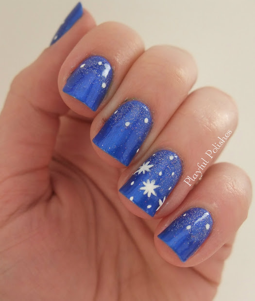 playful polishes january nail