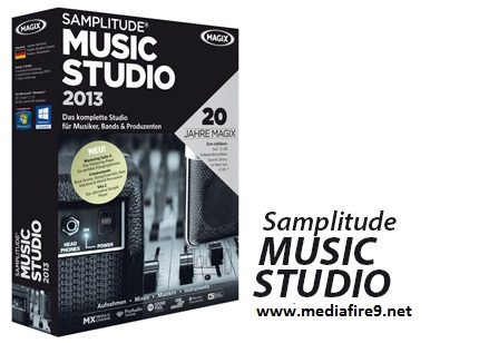 MAGIX Samplitude Music Studio 2013 + KeyGEN  Mediafire Downloads | 160MB