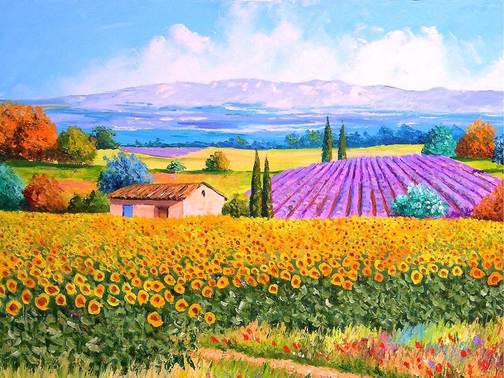 Imagination Painting Landscape Painting