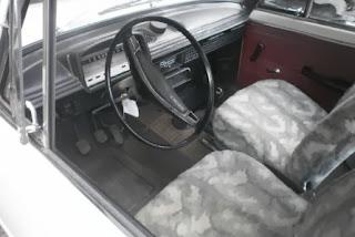 DESPIECE DE SEAT 124
