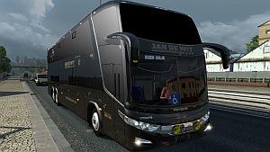 Jan De Wit Black Edition G7 LD 6×2 Bus mod