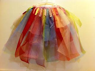How to make a no-sew tutu dress