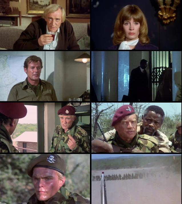 The Wild Geese 1978 Dual Audio Hindi 720p BRRip 950mb