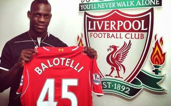 Balotelli in Liverpool