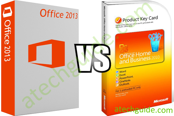 office 2013 or office 2010