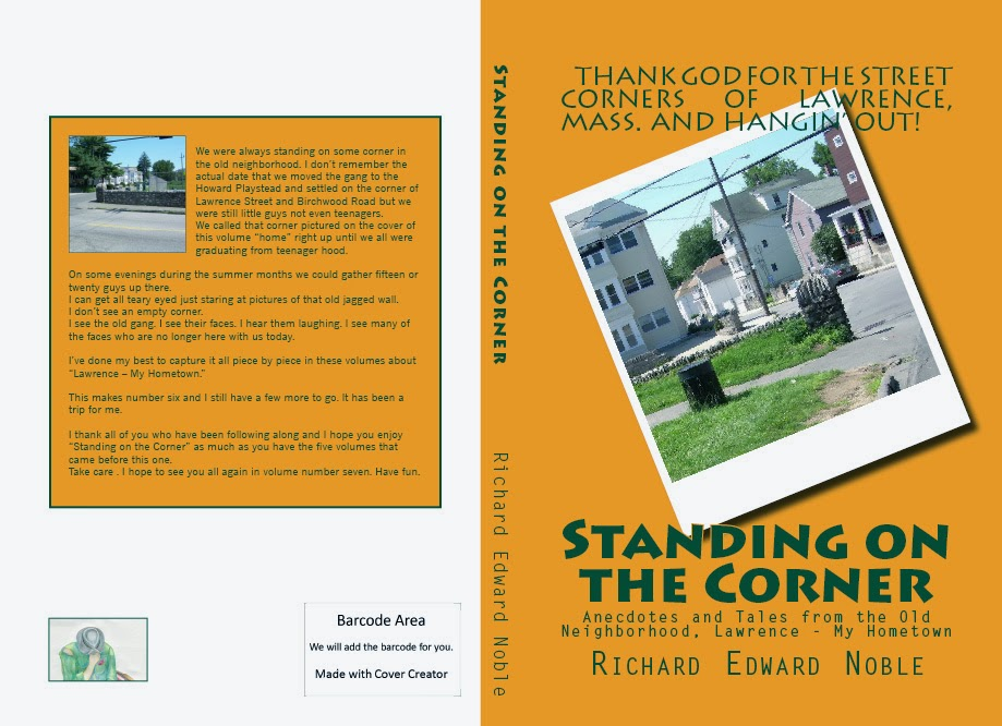 Standing on the Corner is # 6 in the lawrence My Hometown series.