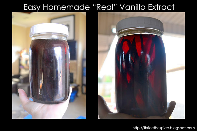 how to make homemade syrup with vanilla extract