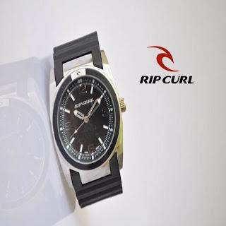 jam tangan keren RIPCURL LEDGE SILVER BLACK