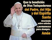 Bienvenido, Francisco, Papa bendiciã³n