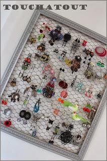 Porte bijoux fabriquer à la maison