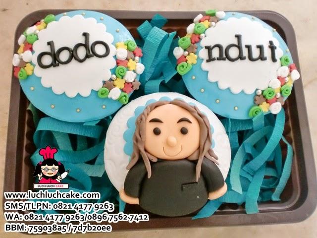 Cupcake Set 3 Souvenir Ulang Tahun Daerah Surabaya - Sidoarjo