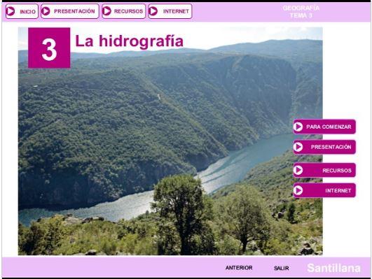 Tema 3. Hidrografía de España