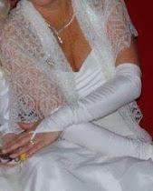 TE KOOP:diverse bruidssjaals, alpaca/zijde en Orenburgse sjaals.