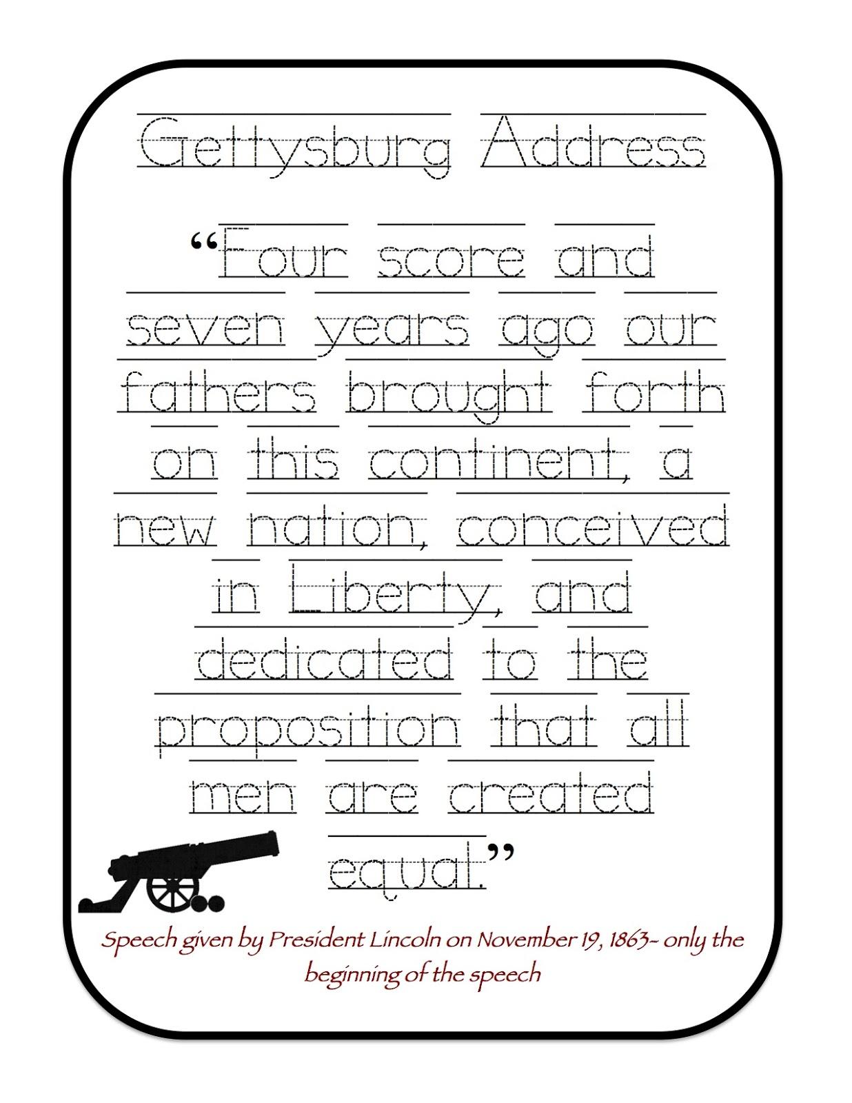 worksheet Dear Mr Henshaw Worksheets gettysburg address worksheet abitlikethis worksheet